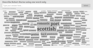 Rabbie wordcloud